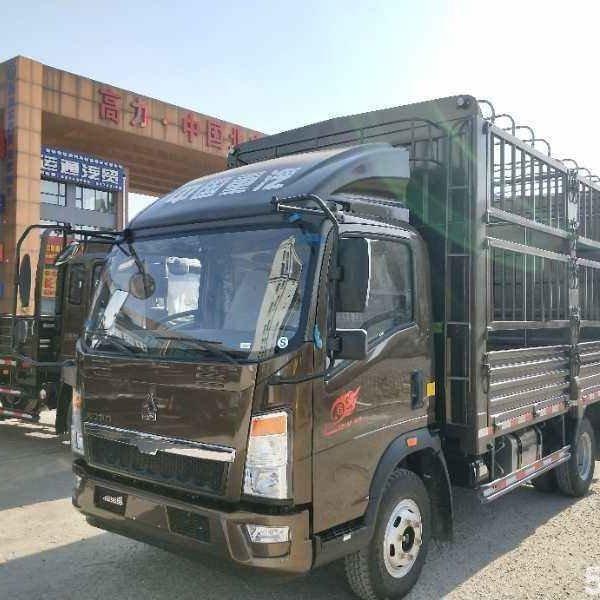 中国重汽HOWO 王系 110马力 3.65米单排栏板轻卡(ZZ1047C3314E145-2)
