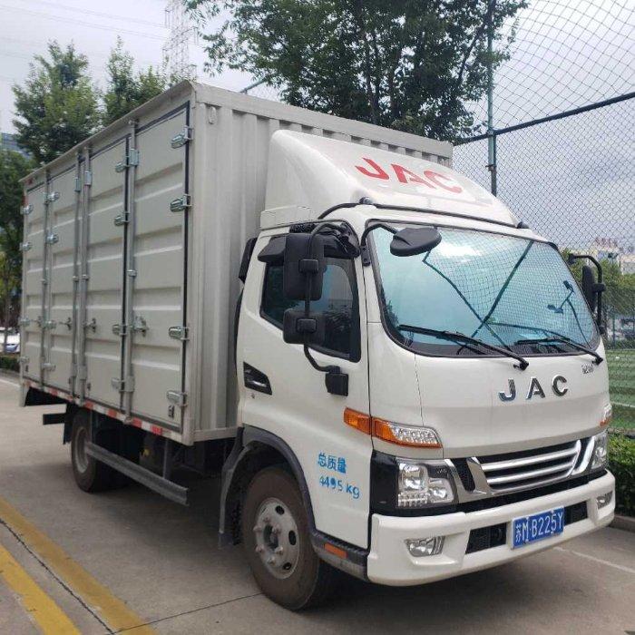 江淮 骏铃V6 152马力 4.18米单排厢式轻卡(HFC5043XXYP91K1C2V)