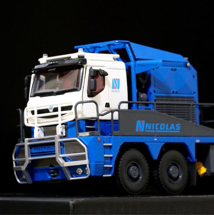 东风柳汽 乘龙T7重卡 560马力 6X4长头牵引车(LZ4251T7DB)